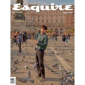 ESQUIRE 3月号(2018) 表紙,画報,インタビュー: パクボゴム /日本国内発送|shopandcafeo|03