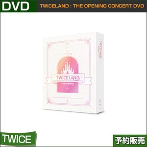 TWICE [TWICELAND ] THE OPENING CONCERT DVD  / リージョンコード:13/韓国音楽チャート反映/日本国内発送/ゆうメール発送/代引不可/1次予約/送料無料|shopandcafeo