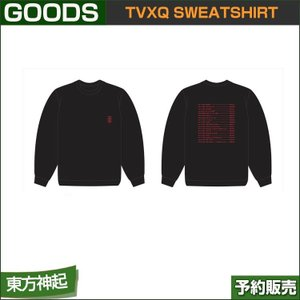 TVXQ SWEATSHIRT / THE TRUTH OF LOVE OFFICIAL GOODS|shopandcafeo