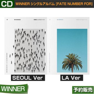 WINNER FATE NUMBER FOR シングルアルバム 2種選択 /和訳つき/ポスター終了/2次予約/特典DVD終了|shopandcafeo