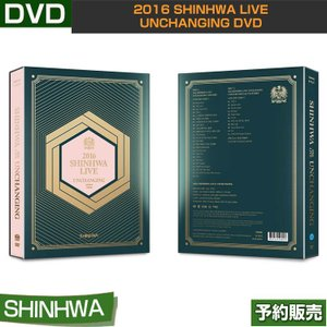 2016 SHINHWA LIVE UNCHANGING DVD /  リージョンコード:ALL/韓国音楽チャート反映/日本国内発送/1次予約|shopandcafeo