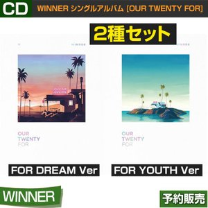 2種セット/WINNER シングルアルバム [OUR TWENTY FOR] / 韓国音楽チャート反映 /日本国内発送/和訳つき/2次予約/初回ポスター終了|shopandcafeo