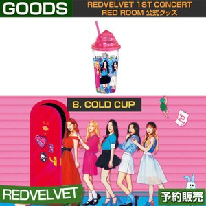 8. COLD CUP / REDVELVET 1st CONCERT RED ROOM 公式グッズ/日本国内発送/1次予約|shopandcafeo