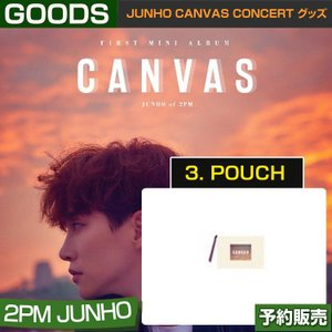 3. POUCH ポーチ / JUNHO CANVAS CONCERT グッズ/ 日本国内配送|shopandcafeo