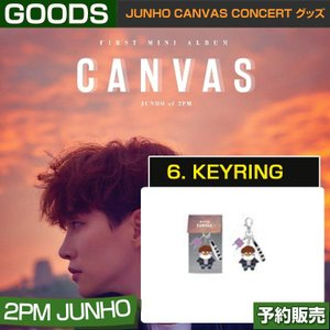 6. KEYRING キーリング/ JUNHO CANVAS CONCERT グッズ/ 日本国内配送|shopandcafeo