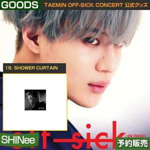 16. SHOWER CURTAIN / SHINee TAEMIN [off-sick] ON TRACK GOODS /日本国内配送/1次予約|shopandcafeo
