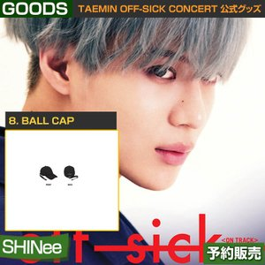 8. BALL CAP / SHINee TAEMIN [off-sick] ON TRACK GOODS /日本国内配送/1次予約|shopandcafeo