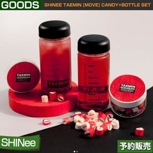 SHINee TAEMIN [MOVE] CANDY+BOTTLE SET / SUM DDP ARTIUM SM 日本国内配送/即日発送|shopandcafeo