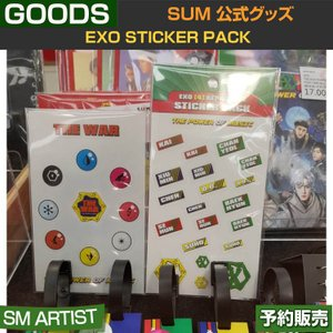 EXO STICKER PACK (THE WAR+THE POWER OF MUSIC) / SUM SM / DDP / ARTIUM /即日発送|shopandcafeo