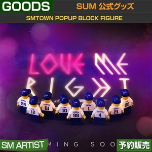2. EXO LOVE ME RIGHT / SMTOWN POPUP BLOCK FIGURE / DDP / ARTIUM /日本国内配送/1次予約|shopandcafeo