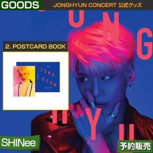 2. POSTCARD BOOK / JONGHYUN CONCERT 公式グッズ /1次予約|shopandcafeo