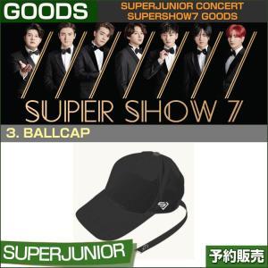 3. BALLCAP / SUPERJUNIOR WORLD TOUR [SUPER SHOW 7] GOODS /1次予約|shopandcafeo