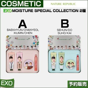 EXO MOISTURE SPECIAL COLLECTION 2種 /1次予約|shopandcafeo