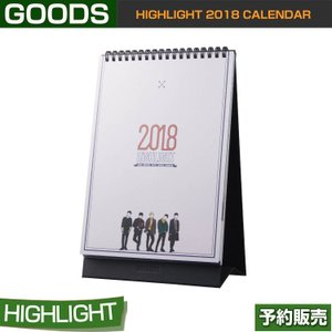 HIGHLIGHT 2018 CALENDAR / 日本国内発送/1次予約|shopandcafeo
