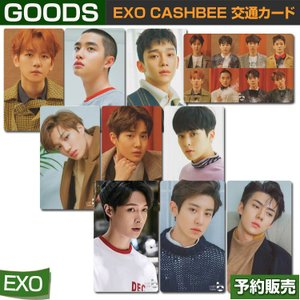 EXO CASHBEE 交通カード / SEVEN ELEVENコンビニ/日本国内発送/1次予約/送料無料/ゆうメール発送/代引不可|shopandcafeo
