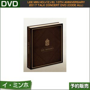 TALK CONCERT DVD [The Originality of LEE MIN HO] (CODE ALL)/韓国音楽チャート反映/日本国内発送/1次予約|shopandcafeo
