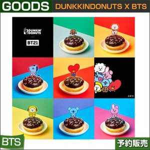 DONUT PIC (ドーナツピック) / BT21 x DUNKKINDONUTS/日本国内発送/1次予約 ドーナツは含まれません
