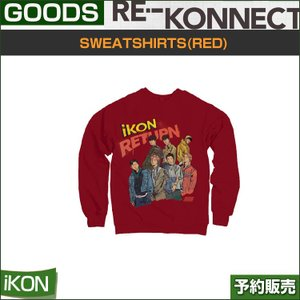 SWEATSHIRTS(RED) / iKON return 2018 PRIVATE STAGE [RE-KONNECT] MD|shopandcafeo