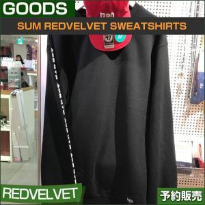 REDVELVET SWEATSHIRTS / SM SUM DDP ARTIUM /1次予約/送料無料|shopandcafeo