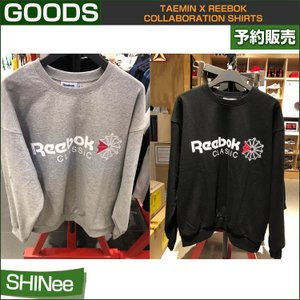 TAEMIN x REEBOK COLLABORATION SHIRTS /日本国内配送/1次予約/ポスター1枚ランダム丸めて発送|shopandcafeo