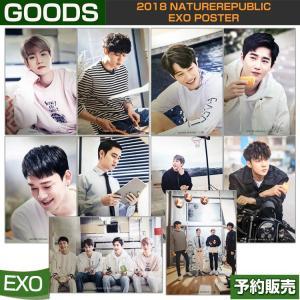 2018 NATUREREPUBLIC EXO POSTER / 1次予約 【ポスター折り畳んで発送】|shopandcafeo