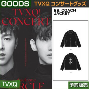 22. COACH JACKET / 東方神起(TVXQ) コンサートグッズ [CIRCLE-#welcome] /日本国内配送/1次予約/送料無料 shopandcafeo