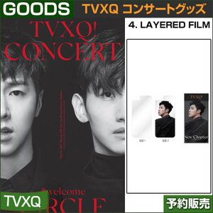 4. LAYERED FILM / 東方神起(TVXQ) コンサートグッズ [CIRCLE-#welcome] /日本国内配送/1次予約 shopandcafeo