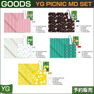 YG PICNIC MD SET (BIGBANG,SECHSKIES,WINNER,IKON,BLACKPINK)/1次予約|shopandcafeo