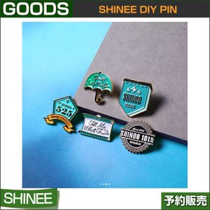 SHINee DIY PIN / 10th Anniversary / SUM DDP ARTIUM / SHINEE PIN /1次予約|shopandcafeo