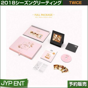 TWICE 2018 シーズングリーティング / SEASON GREENTINGS / JYP/日本国内発送/ゆうメール発送/代引不可/1次予約/送料無料|shopandcafeo