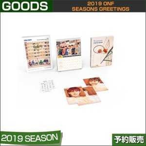 2019 ONF SEASONS GREETINGS / シーズングリーティング / 1次予約|shopandcafeo