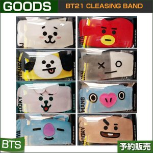 BT21 CLEANSING BAND /OLIVE YOUNG/1次予約 shopandcafeo