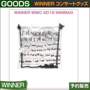 WINNER WWIC 2018 MINIBAG / [OTF] PRIVATE STAGE WWIC 2018 GOODS|shopandcafeo