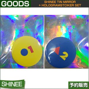 SHINee Tin Mirror + HologramStciker Set / SUM DDP ARTIUM / 1806 /送料無料/ゆパケット追跡可能|shopandcafeo