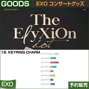 18. KEYRING CHARM / EXO THE PLANET#4 OFFICIAL GOODS  / 1807exo /2次予約|shopandcafeo