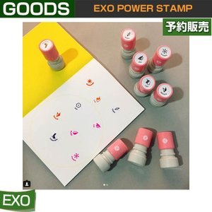EXO POWER STAMP スタンプ / SUM DDP / 1807exo