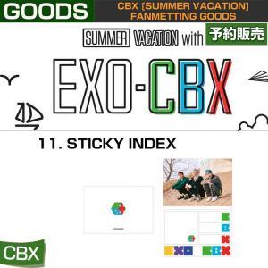 11. STICKY INDEX / CBX [SUMMER VACATION] FAN GOODS / 1808cbx /1次予約|shopandcafeo