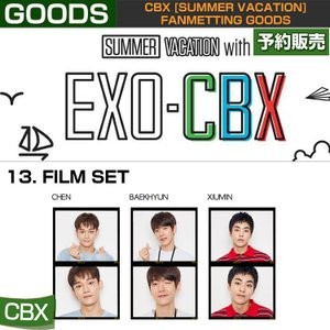 13. FILM SET / CBX [SUMMER VACATION] FAN GOODS / 1808cbx /1次予約|shopandcafeo