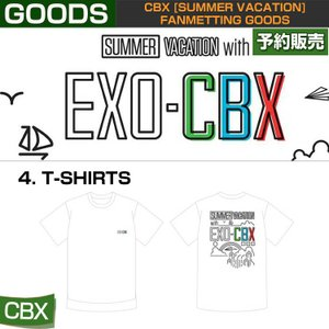 4. T-SHIRTS / CBX [SUMMER VACATION] FAN GOODS / 1808cbx /1次予約|shopandcafeo