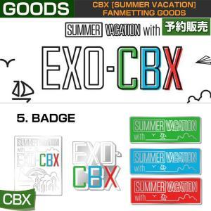 5. BADGE / CBX [SUMMER VACATION] FAN GOODS / 1808cbx /1次予約|shopandcafeo