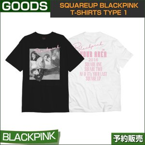 SQUAREUP BLACKPINK T-SHIRTS TYPE 1 / 1807bp /2次予約|shopandcafeo