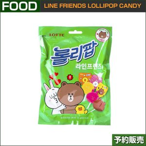 LINE FRIENDS LOLLIPOP CANDY 12個入/ 7ELEVEN / LOTTE /1次予約|shopandcafeo