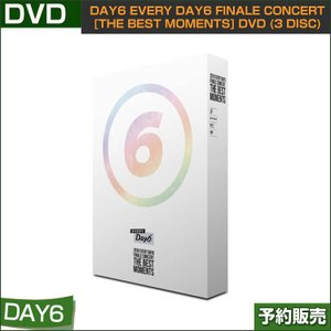 DAY6 EVERY DAY6 FINALE CONCERT [THE BEST MOMENTS] DVD (3 DISC) / 韓国音楽チャート反映/1次予約|shopandcafeo
