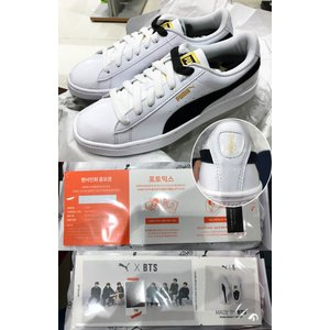 SNEAKERS / PUMA BASKET MADE BY BTS /1次予約/送料無料 / サイン会応募権つき|shopandcafeo|03
