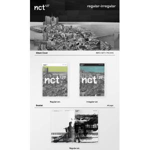 2種セット / NCT127 正規1集 [NCT #127 Regular-Irregular] / 韓国音楽チャート反映/初回限定ポスター1枚丸めて発送/特典DVD終了/2次予約|shopandcafeo|02