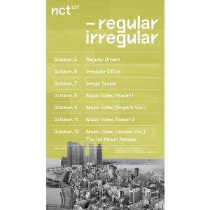 2種セット / NCT127 正規1集 [NCT #127 Regular-Irregular] / 韓国音楽チャート反映/初回限定ポスター1枚丸めて発送/特典DVD終了/2次予約|shopandcafeo|06