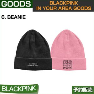 6. BEANIE / BLACKPINK IN YOUR AREA GOODS / 1810bp /1次予約 shopandcafeo