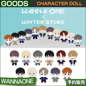 1. CHARACTER DOLL / WANNAONE x WINTER STORE GOODS /1次予約