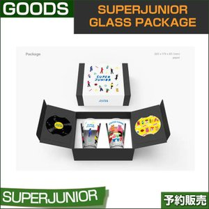 SUPERJUNIOR GLASS PACKAGE 1次予約|shopandcafeo