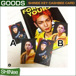 SHINee KEY CASHBEE CARD 交通カード / コンビニ / SMDDP SUM 1次予約  送料無料|shopandcafeo